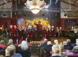 Kerst met Singing Surrender (foto's)